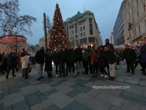 Free Tour Budapest 2019 Diciembre 13 viernes tour de las 14:30 hrs en la feria navideña en plaza vorosmarty Budapest