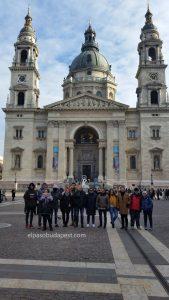 Free Tour de Budapest en el año 2020 Enero 06 lunes tour de las 10:30 hrs frente a la basílica de San Esteban en Budapest