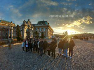 Participando en el Free Tour de Budapest en 2020 Febrero 11 Martes tour de las 14:30 en el castillo de Buda en Budapest