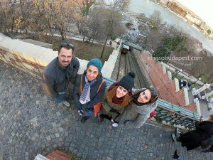 Free Tour Budapest 2020 Febrero 13 Jueves tour de las 14:30 junto al funicular del distrito del castillo en la parte de Buda