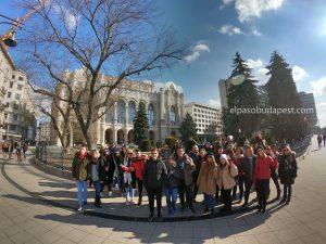 Grupo divertido del Free Tour en Budapest en 2020 Febrero 15 Sábado tour de las 10:30 horas en la plaza Vigadó