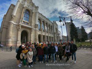 Free Tour en español en Budapest el año 2020 Febrero 22 Sábado tour de las 10:30 horas frente al Vigadó Budapest Concert Hall