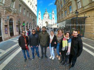 Grupo de Free tour Budapest en español 2020 Marzo 02 Lunes tour de las 14:30 horas en el paseo de las estrellas de Hungría