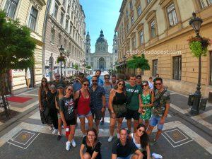 Visita guiada Free tour Budapest en español 2020 Agosto 07 Viernes tour de las 10:30 horas frente a la Basílica de Budapest