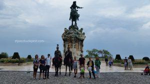 Free tour Budapest 2020 Agosto 16 Domingo tour de las 14:30 horas detrás de la estatua del Príncipe Eugenio de Saboya