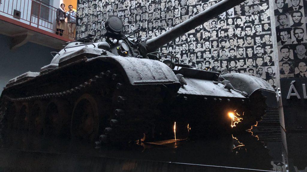 Casa del Terror museo sobre comunismo en Budapest Hungría