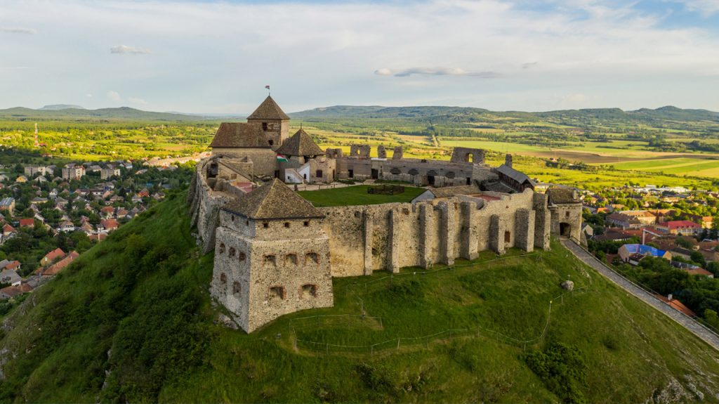 Castillo Sümeg en Hungría