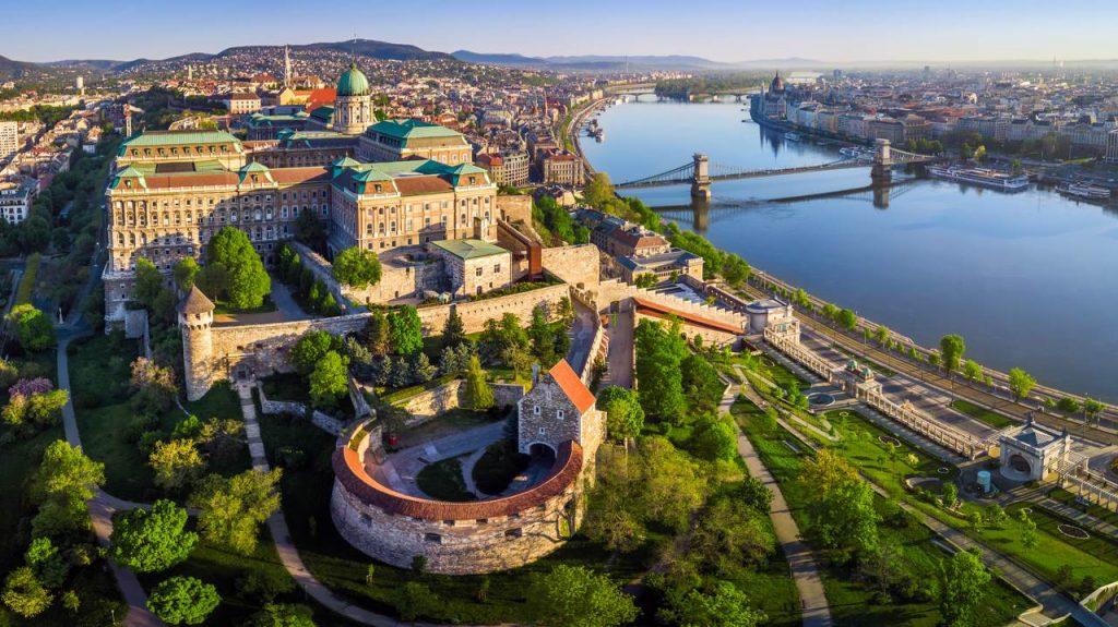 Castillo de Buda (Budavári Palota) en Budapest