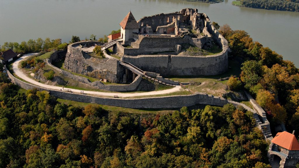 Castillo de Visegrád en Hungría