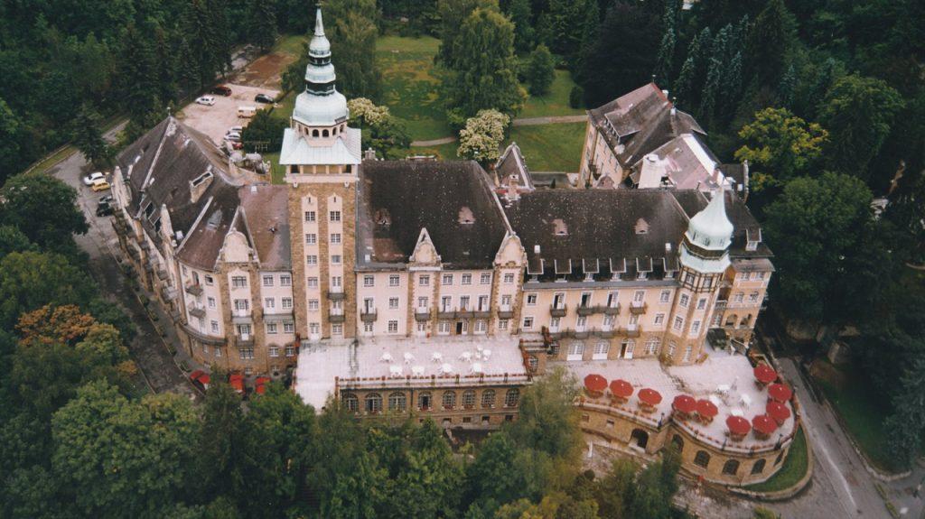 Hotel Palace (Palotaszálló) en Lillafüred en Hungría