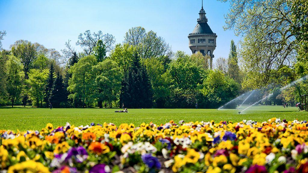 Jardines de la Isla Margarita en Budapest