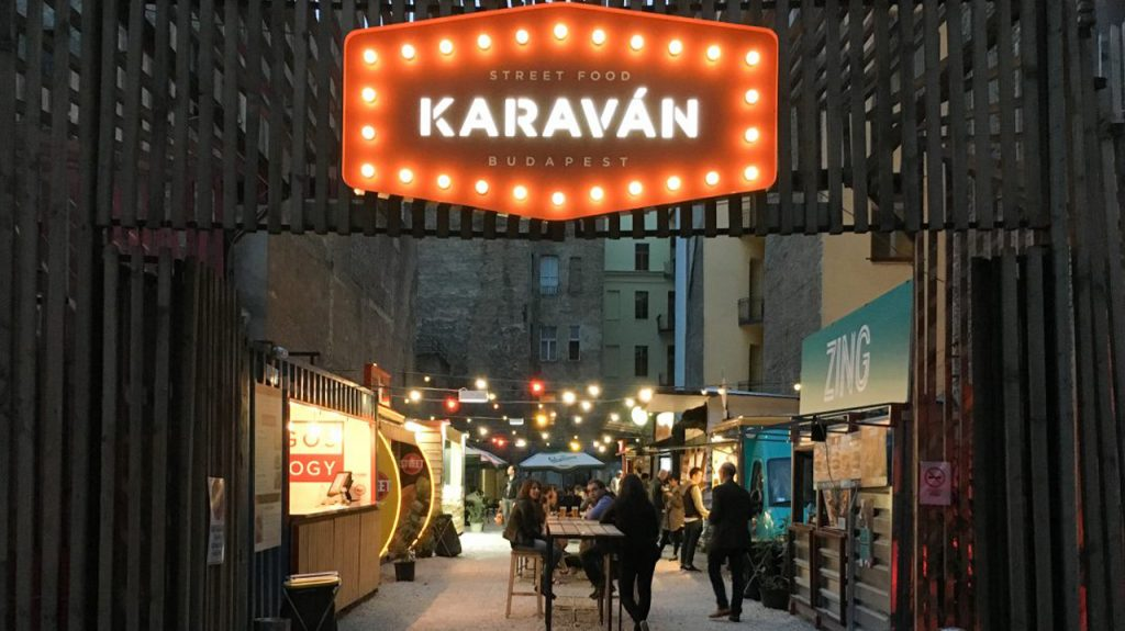 Karaván Food street food Budapest