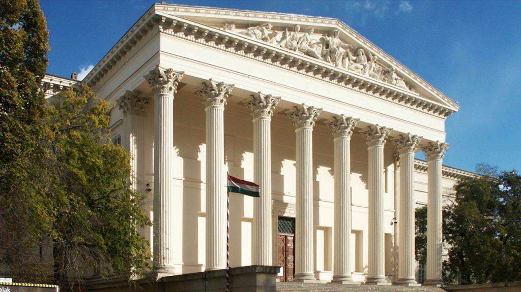 Museo Nacional de Hungría en Budapest