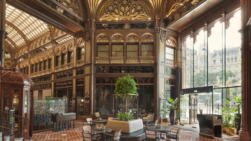 Párisi udvar hotel en Budapest