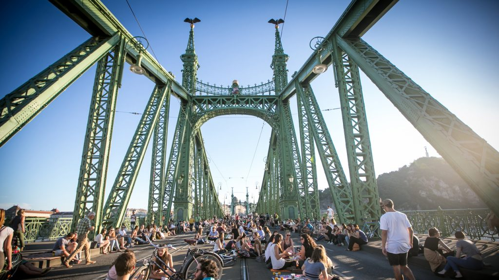 Puente de la Libertad (Szabadság híd) en Budapest