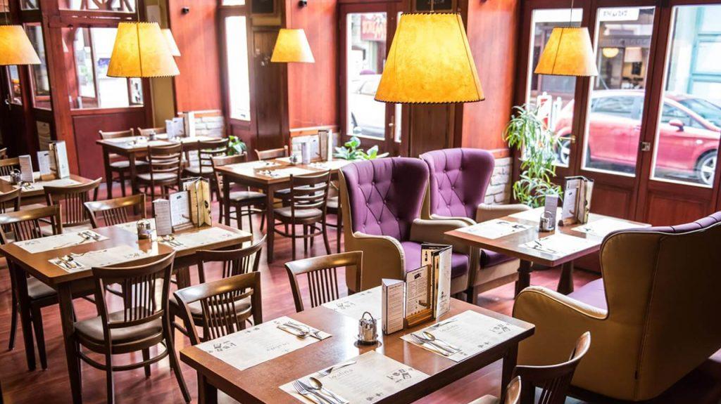 Restaurante Vakvarjú en Budapest
