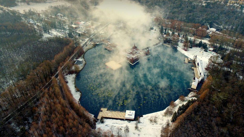 Hévíz el lago termal más grande del mundo en Hungría