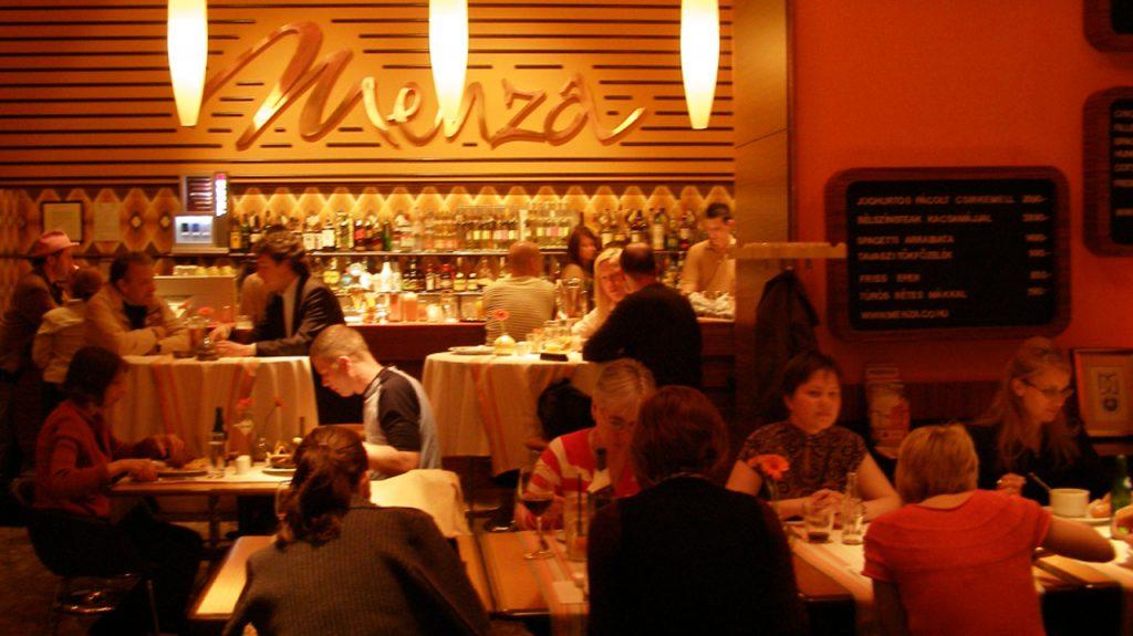 Menza restaurante en Budapest