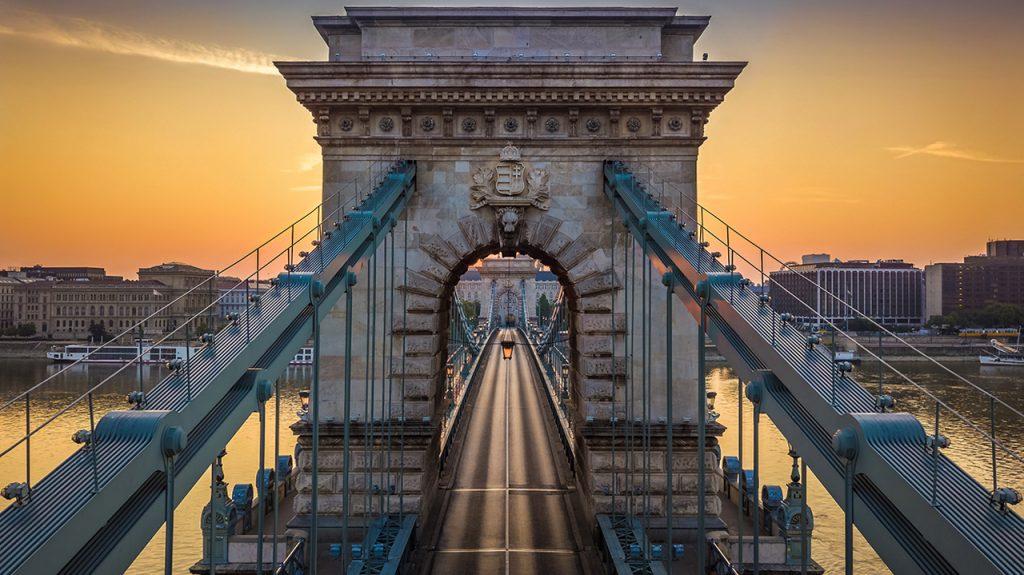 Széchenyi lánchíd puente de cadenas